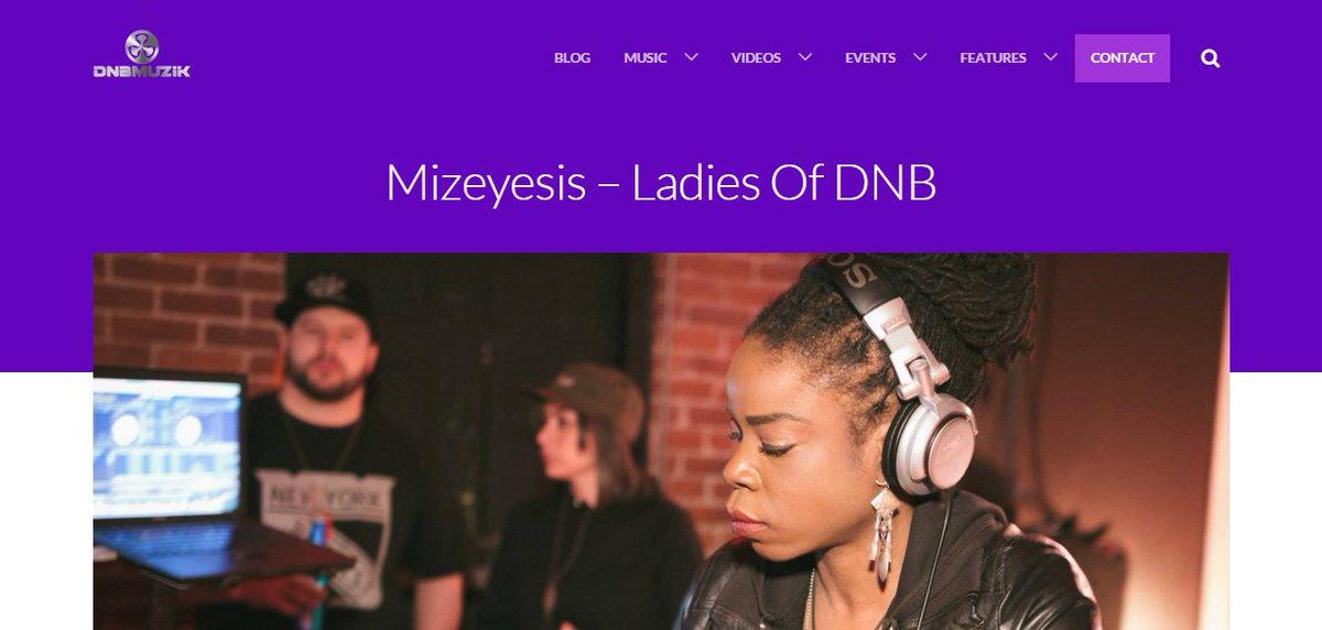 Peep #interview & #djmix for @DnBMuzik Ladies of #DNB by @Missrepresent https://t.co/y3nFpUdiVN #drumandbass #jungle https://t.co/oCxBcnVr1H