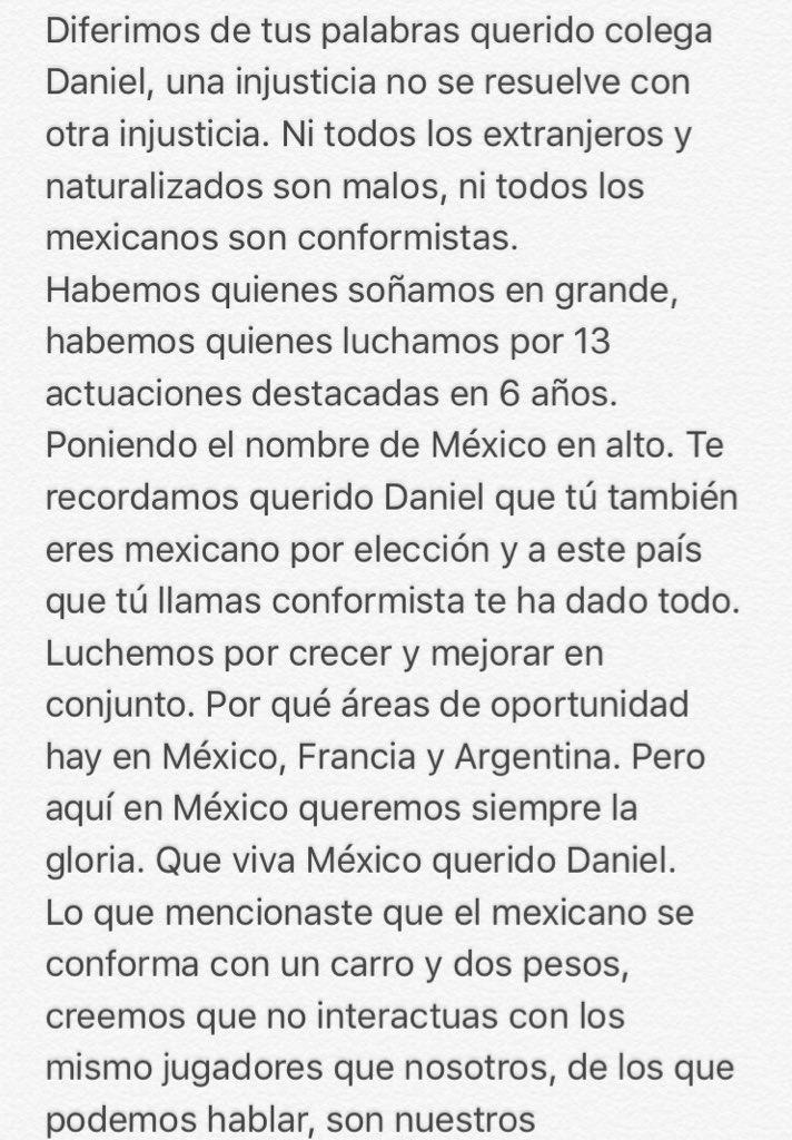 En selecciones menores y fuerzas básicas en México no existe el conformismo.