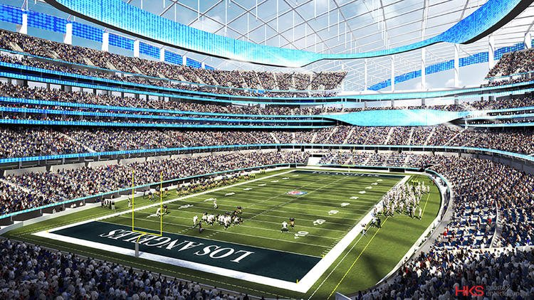 BREAKING NEWS: Rams coming to Inglewood, according to a report. #NFLtoLA https://t.co/X5W1mq9LTj https://t.co/KSEuSe1JJ6