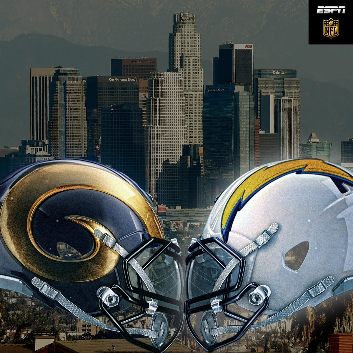 """La Rams New Stadium: NFL On ESPN On Twitter: """"Rams And Chargers Will Be"""