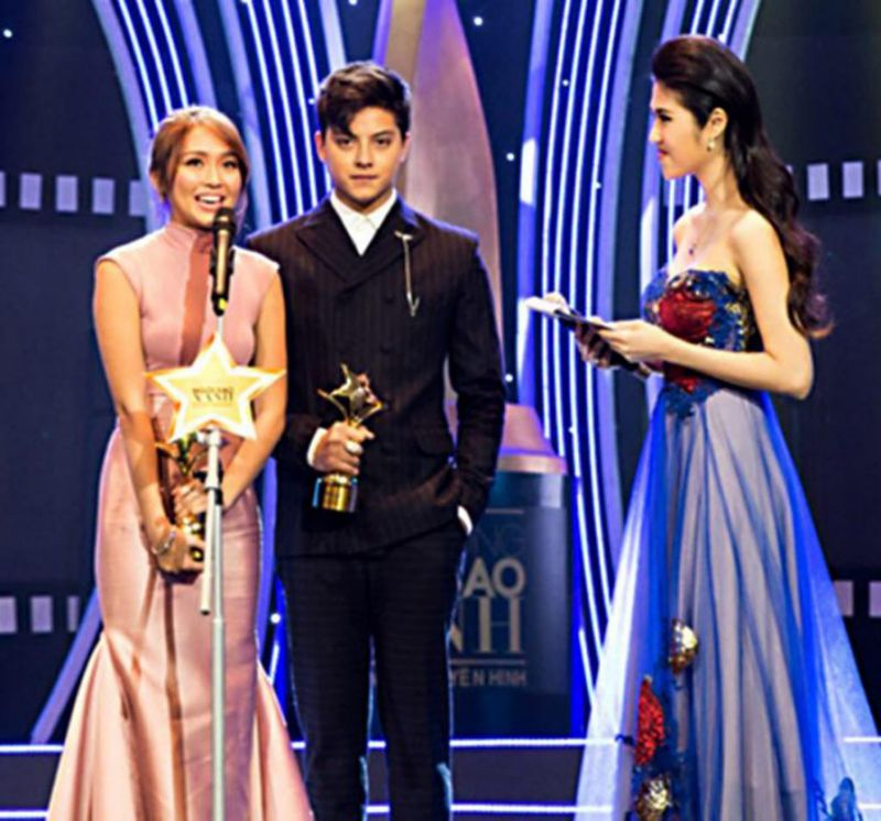 "#KathNiel wins accolades in Vietnam's Face of the Year Awards for hit series ""Got to Believe https://t.co/iQtdwBpa5b https://t.co/wtBy2bKv6R"