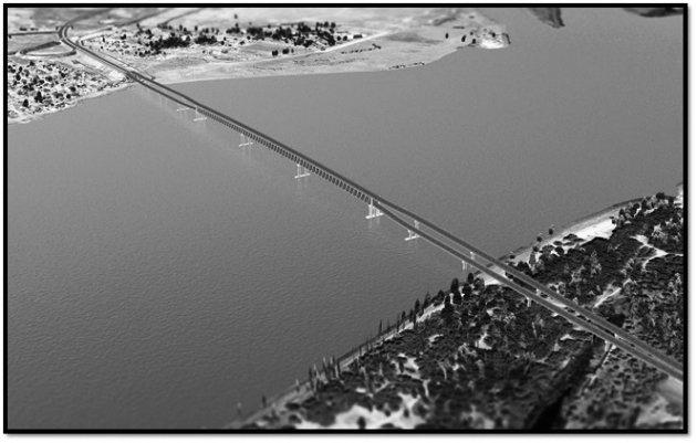 Астрахань новый мост пляж как проехать