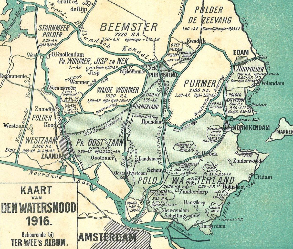 Komende nacht precies 100 jaar geleden werd Noord-Holland getroffen door een watersnoodramp https://t.co/X2NmnoY5or https://t.co/QFBLJF5ipg