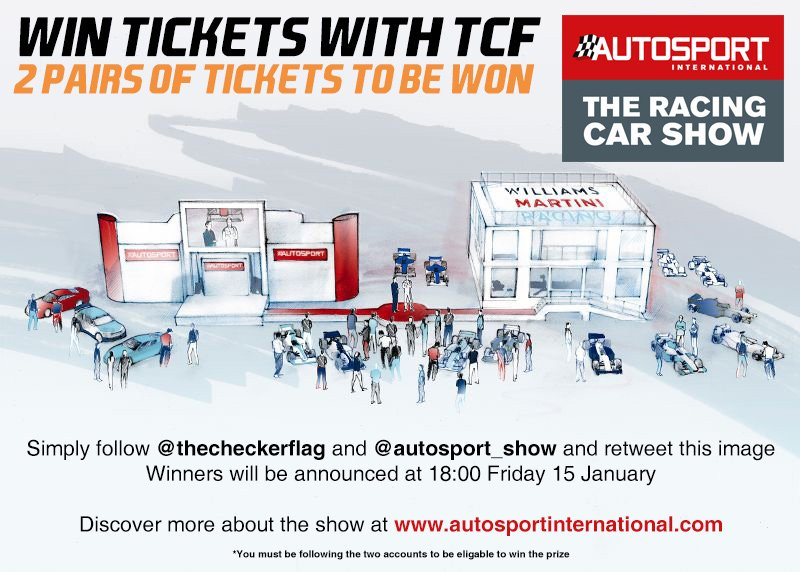 We have 2 pairs of tickets to give away to @Autosport_Show this weekend, and all you have to do is follow and RT! https://t.co/IxD44pf9Bj
