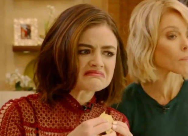 Lucy Hale come gafanhotos e larvas em programa de TV https://t.co/ofaPOr9T1V