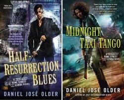 GIVEAWAY! ♡♡♡ HALF-RESURRECTION BLUES & MIDNIGHT TAXI TANGO ♡♡♡ by @djolder @AceRocBooks https://t.co/mS4YrCyYHm https://t.co/OhjOJdMtJY