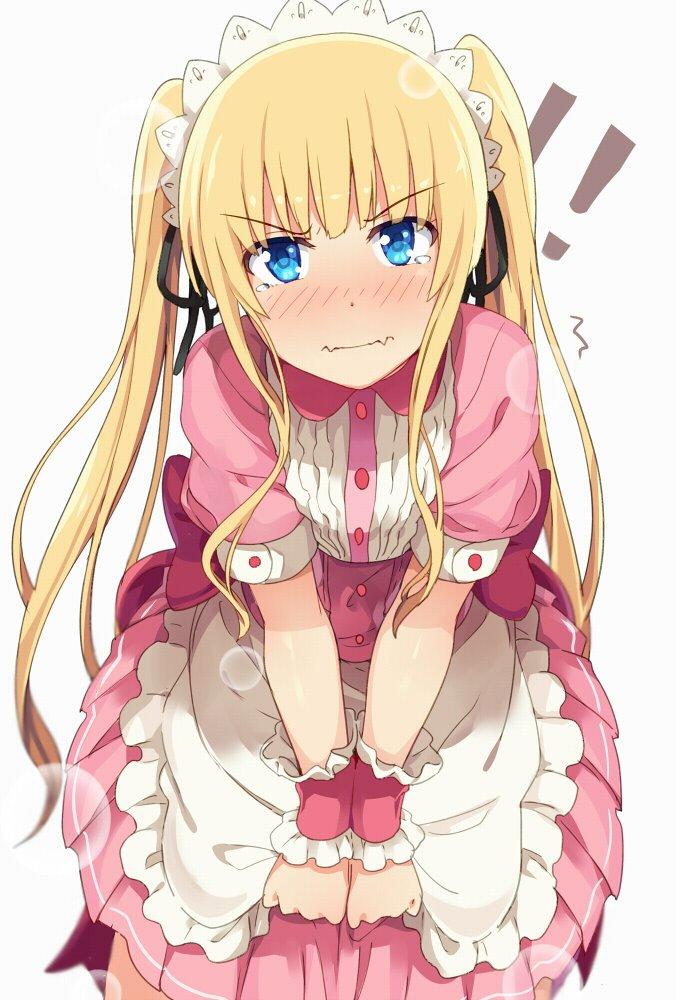 可愛い服を着せたい英梨々で塗り練習 pic.twitter.com/NvOFbYUSnx