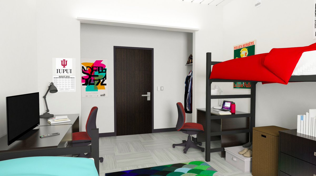 IUPUI on Twitter Nice digs Check out new renderings of rooms