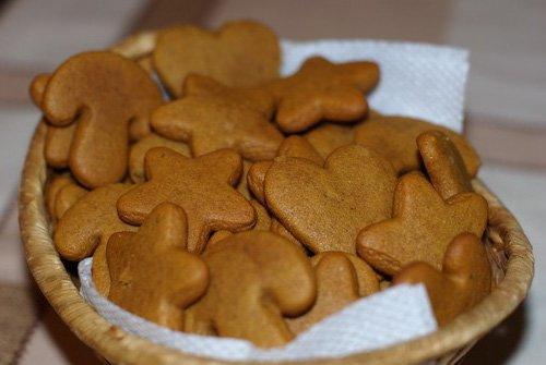 рецепт вкусного имбирного печенья с фото