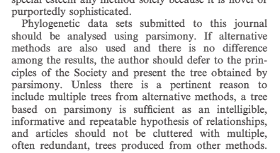 A new Editorial from Cladistics. Back to the Cold War of systematists...https://t.co/L3irUPUTZb #phylogeny https://t.co/7SvWJCpRAd