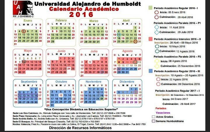 Uah Calendario Academico.Uah Valencia On Twitter Calendario Academico 2016 Uah Uahval