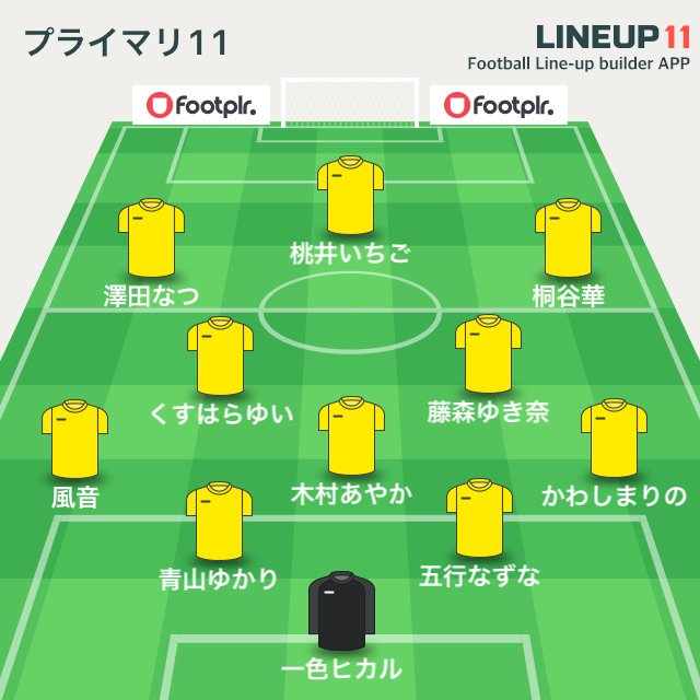 日本代表スタメン #lineup11 https://t.co/0PVw95Zojz