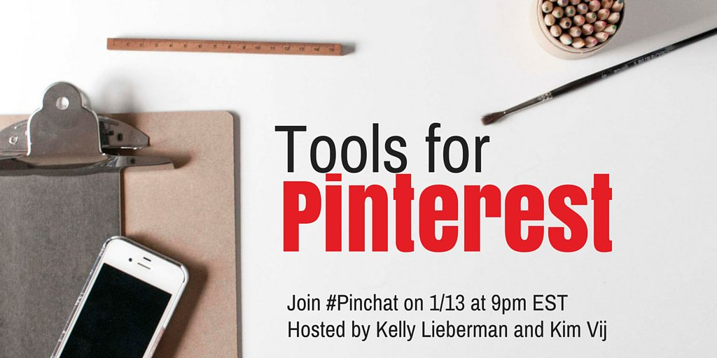 Create, schedule and measure! What tools do you use for #Pinterest? Share your favorites tonight during #PinChat https://t.co/zpGdUOAO0k