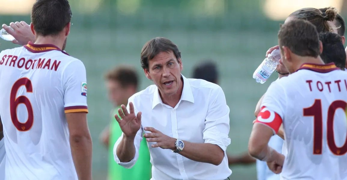 Rudi Garcia Was Sacked from AS Roma [image by @OfficialASRoma]