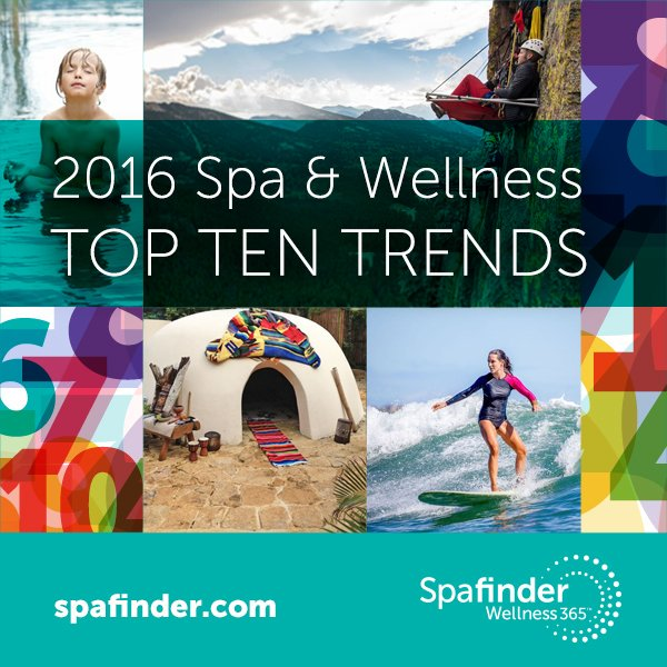 2016: @Spafinder Wellness 365 released its annual Global Spa & Wellness Trends Forecast ~ https://t.co/BqBQokqiwM .. https://t.co/xcizOw4eMc