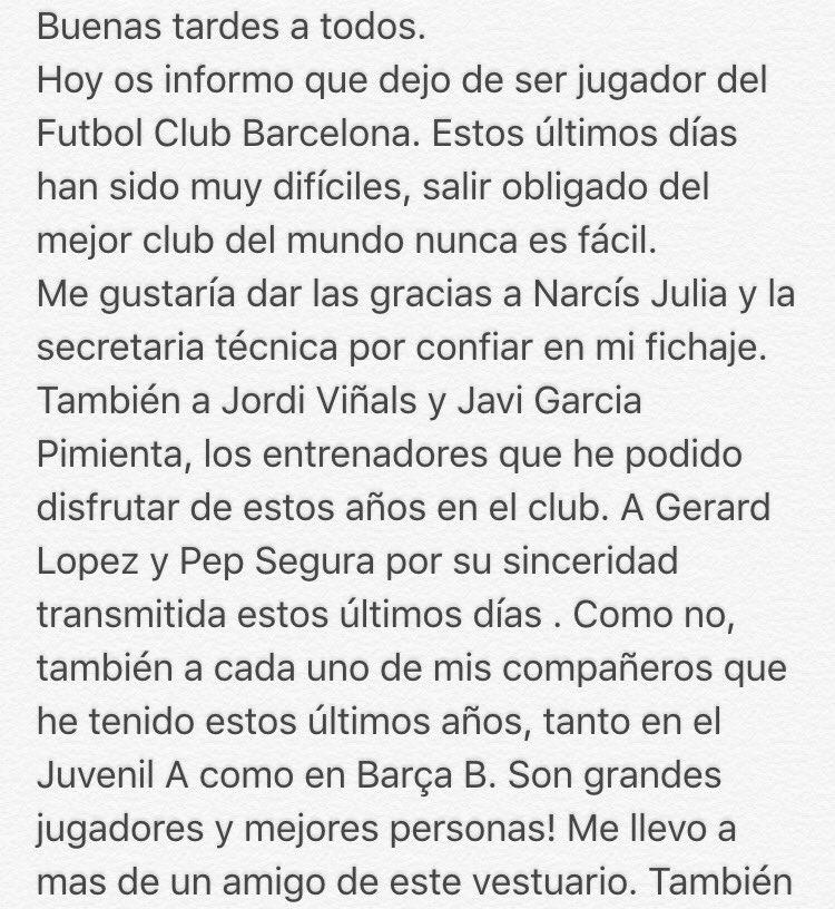Post oficial: cantera del Barça - Página 29 CYnIC5-WwAA9xqO