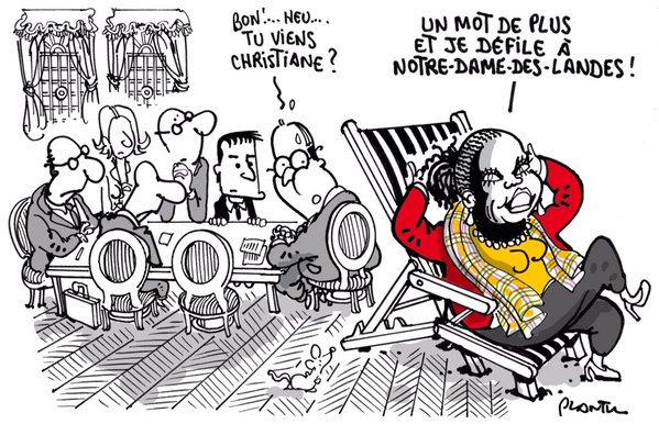 Bel hommage de @plantu à Notre Dame des Lois #NDDL https://t.co/YIpQJlwgLS