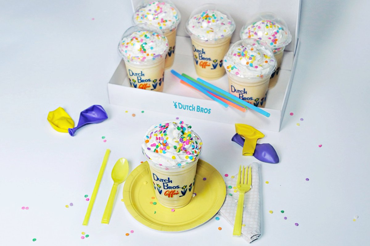 Dutch Bros Boise On Twitter Make Everyday Your Birthday With Our