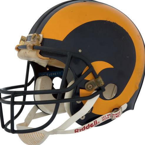Jim Rams Flashback Jim Everett Rams Helmet Jimrome Scoopnest
