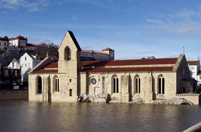 Foro Tv On Twitter Se Inunda El Monasterio De Santa Clara A Velha Por La Crecida Del Río Mondego En Coimbra Portugal Https T Co Aysypiur8u