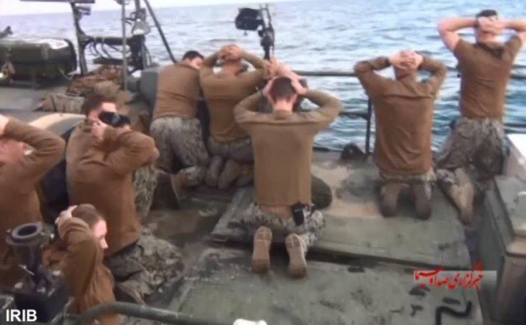 Iran violated Geneva Convention with sailor videos