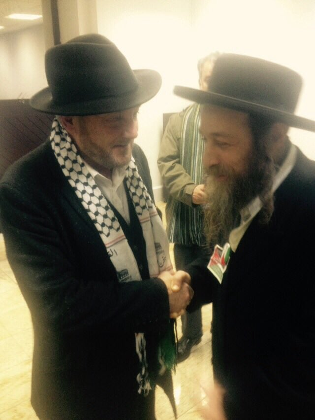 """brothers """"@georgegalloway: All for Palestine tonight in Central London @alondonforall https://t.co/6jbpORoDrf"""""""