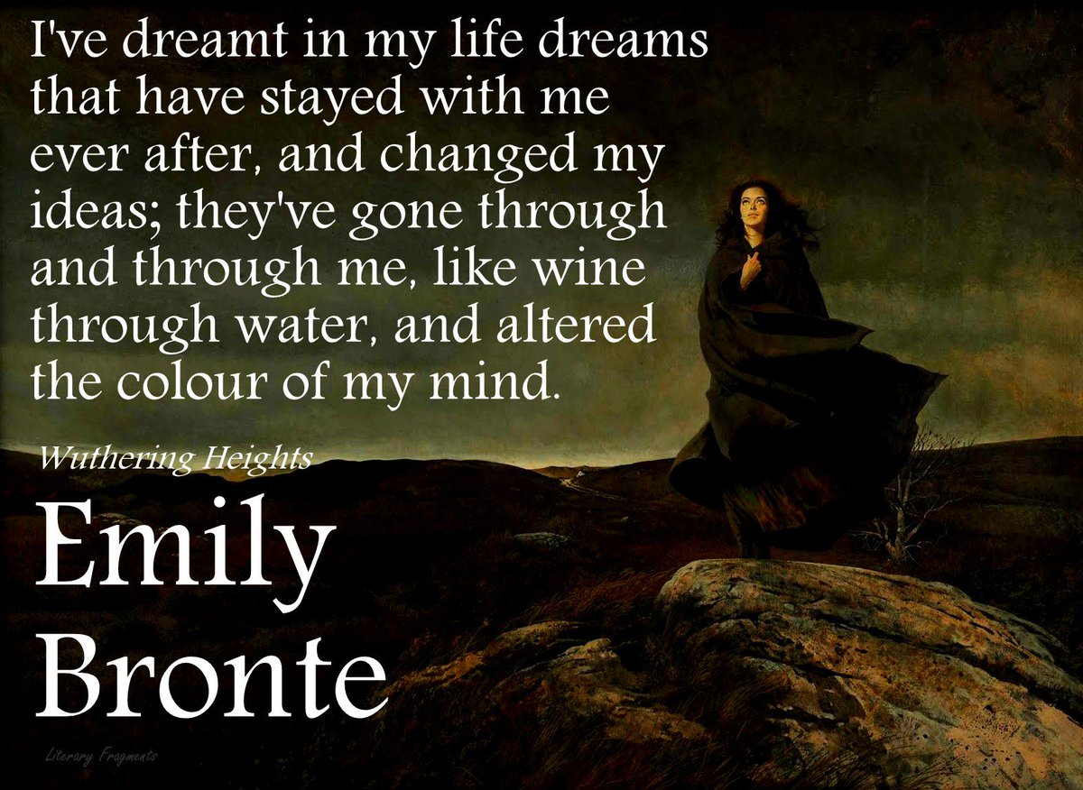 dreams in wuthering heights