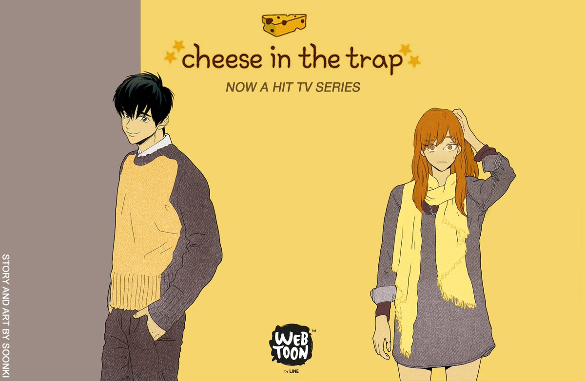 webtoon cheese in the trap