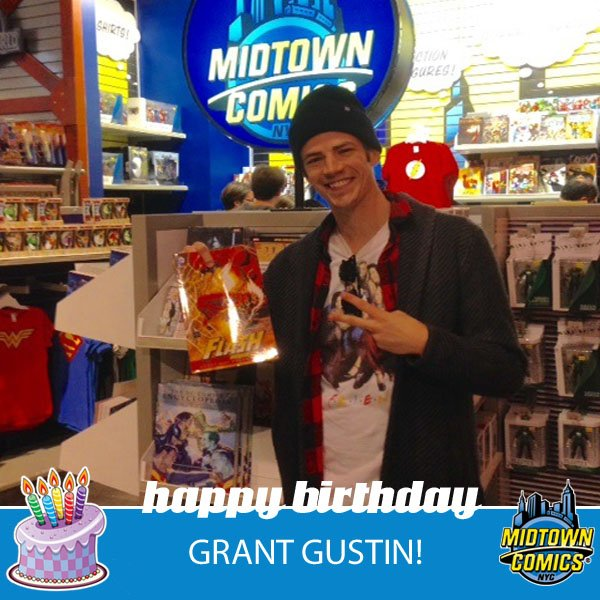 Happy birthday to @grantgust, a.k.a. #TheFlash! Here are 3 reasons why we love the guy: https://t.co/12vMaqLrjq https://t.co/Xhya6hB4iE