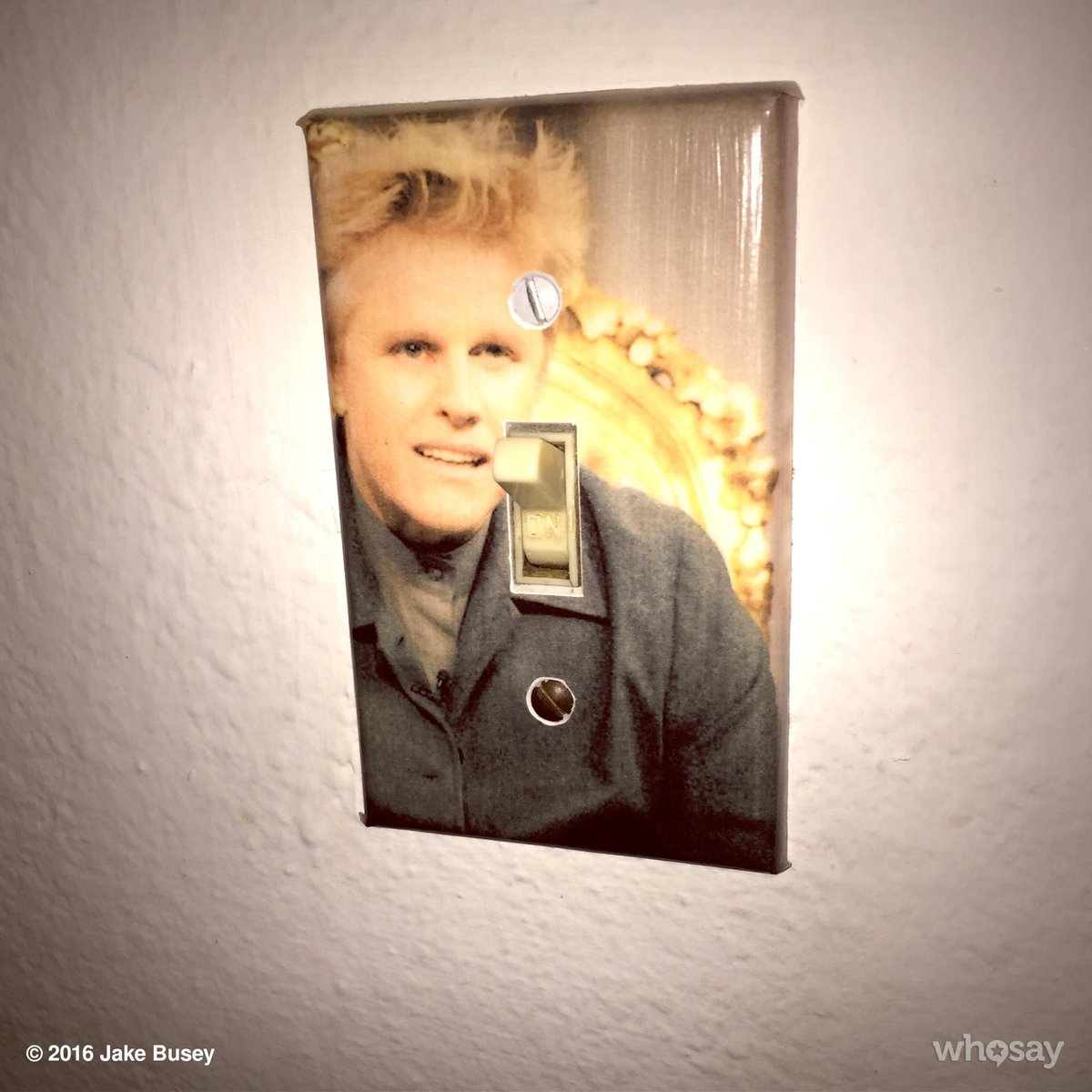 """People often ask me,""""what was it like growing with @THEGaryBusey as your Dad?"""" Well, ya get 1 of these, for starters https://t.co/aiWMaj2nJa"""