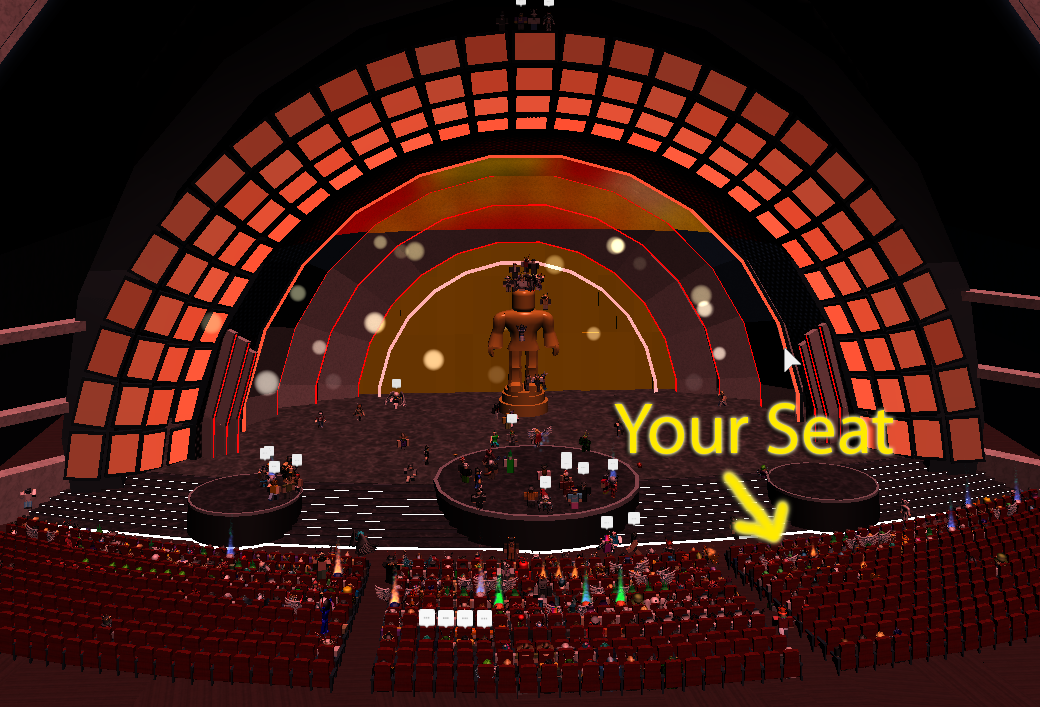 Giving away 30 FRONT ROW seats to the #ROBLOX Bloxy Awards. RT with your userid to win! https://t.co/ZYbioCDNds https://t.co/fHLzjhBRjI