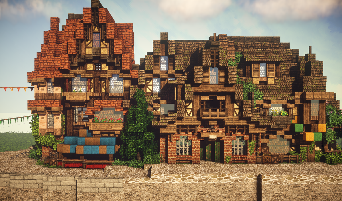 Minecraft Building Guide 6 Steps To Build Medieval House With Texture Pack Download Offered