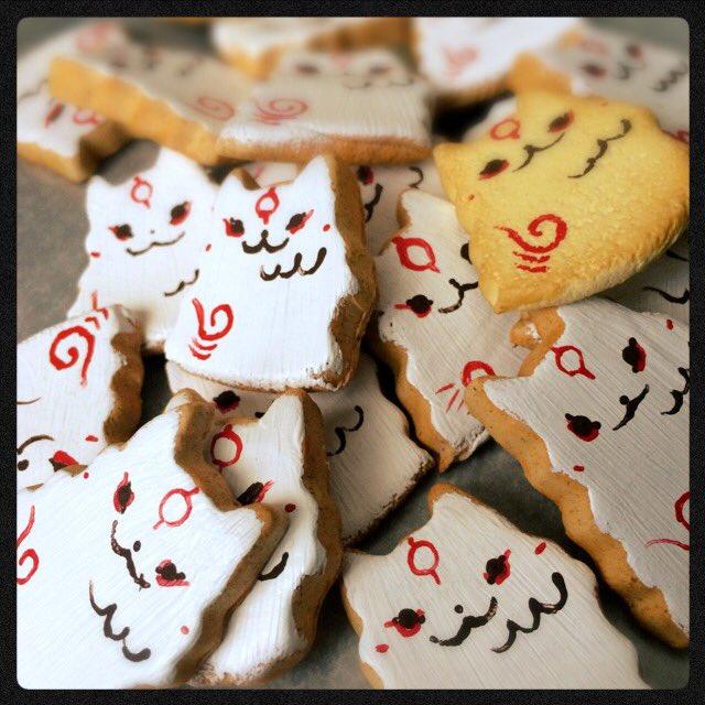 アマテラスクッキー、コーティングしていきまーす(^^) https://t.co/SJwbrDd1iP