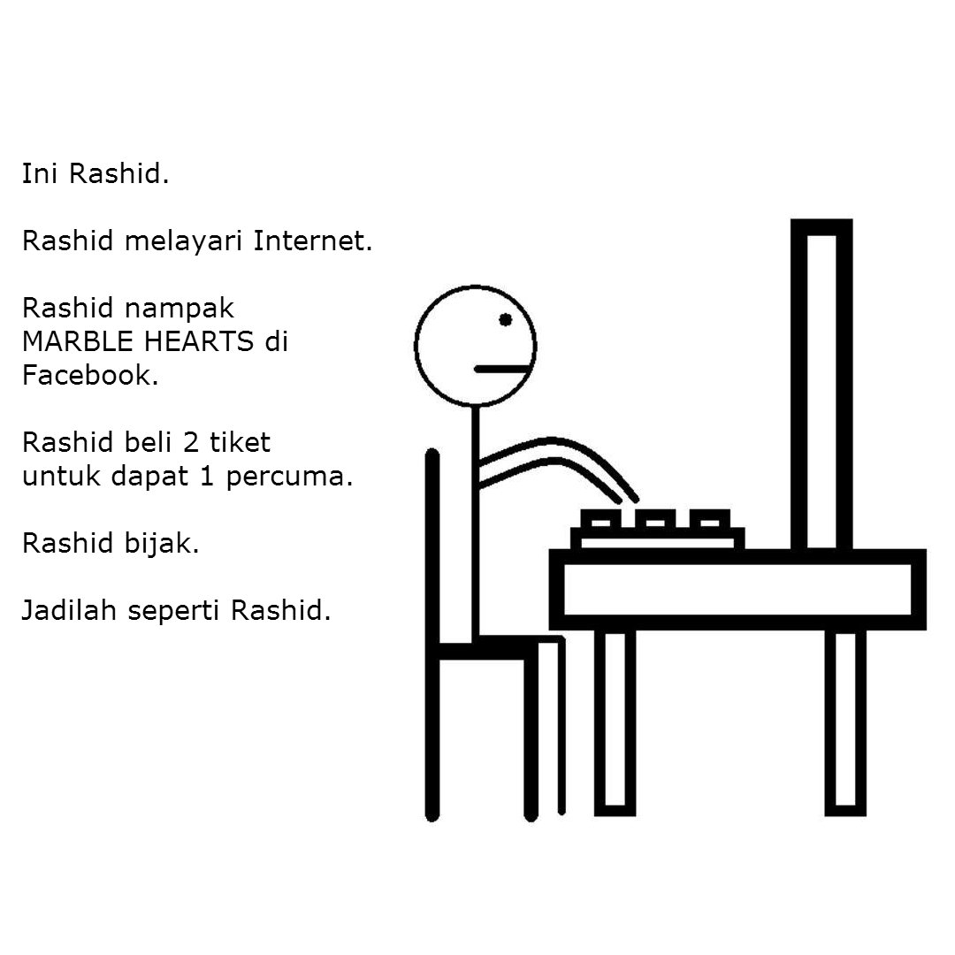 #JadilahSepertiRashid   Reposting for y'all to see!  *T&C apply* https://t.co/aLt3wW3KxS
