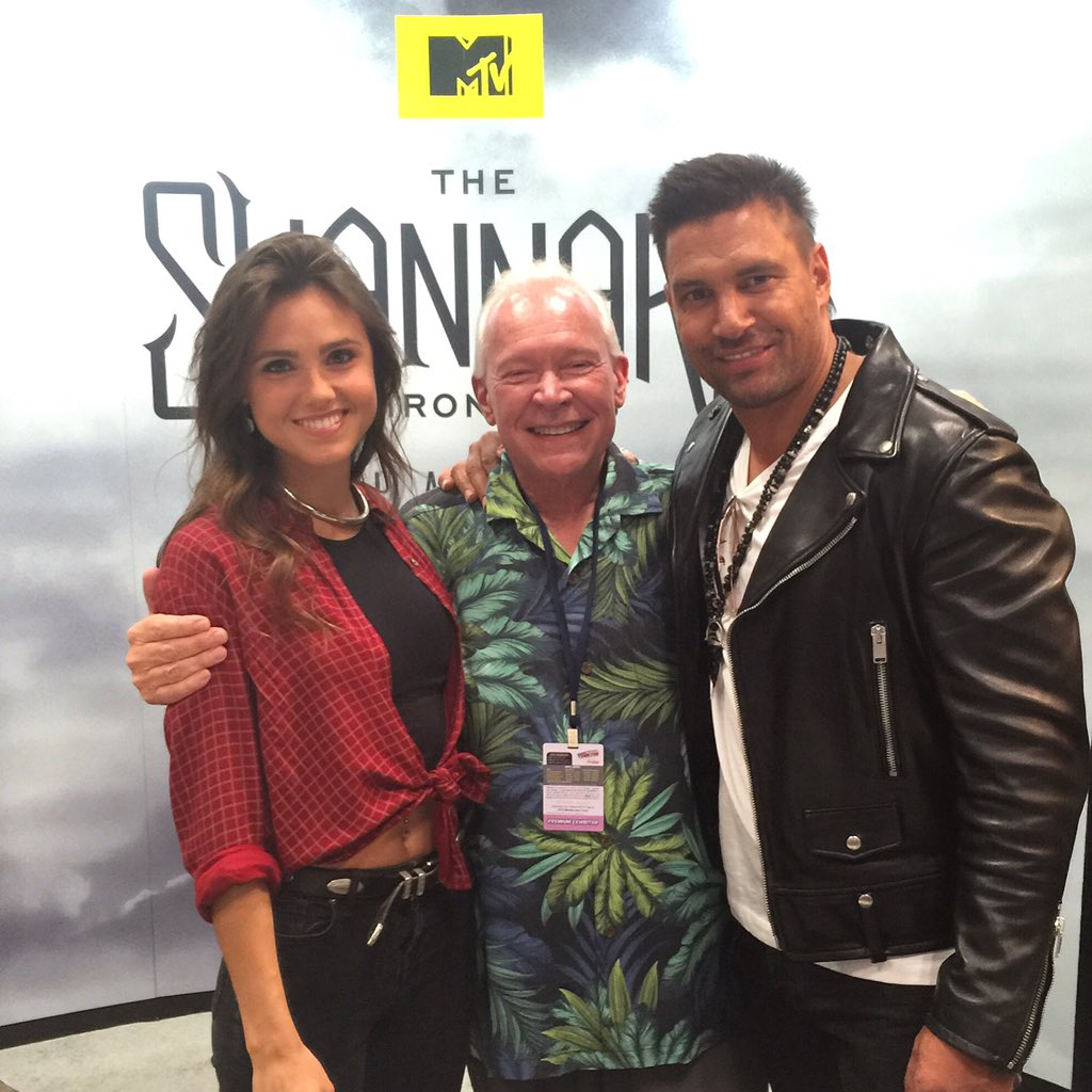 What did you think of my friends Amberle and Allanon in Episode 3? #shannara @Shannara @PoppyDrayton @manubennett https://t.co/H7AfunrbSo