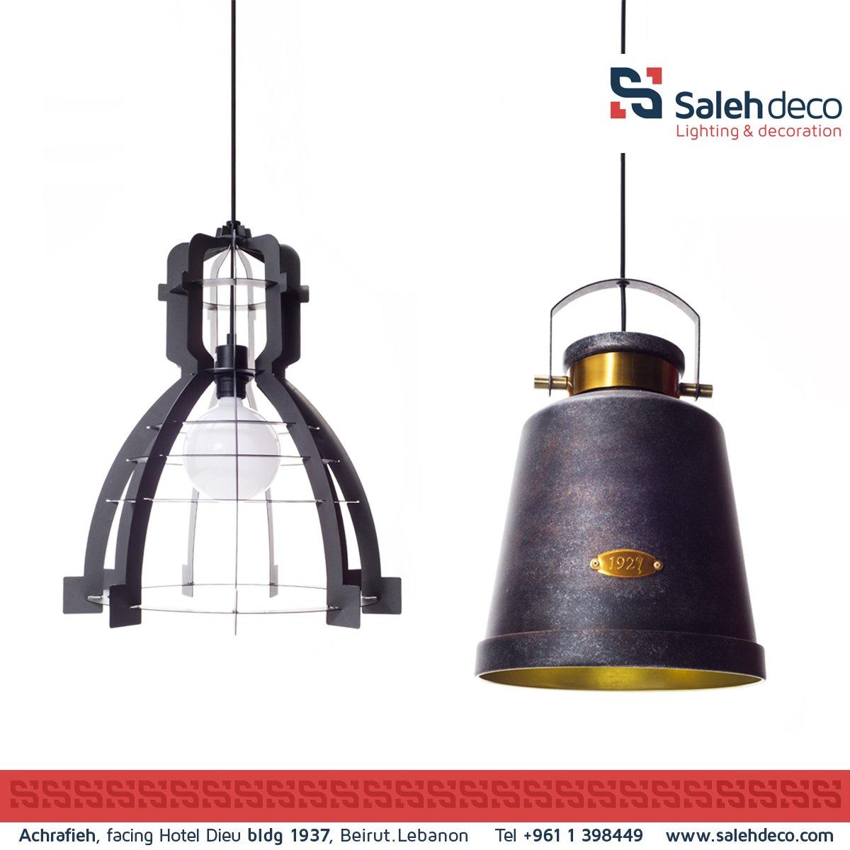#vintage #Industrial #pendants available now at our showroom. #lighting #interior #design #decor #lebanon #salehdeco https://t.co/U9LrhYYJur