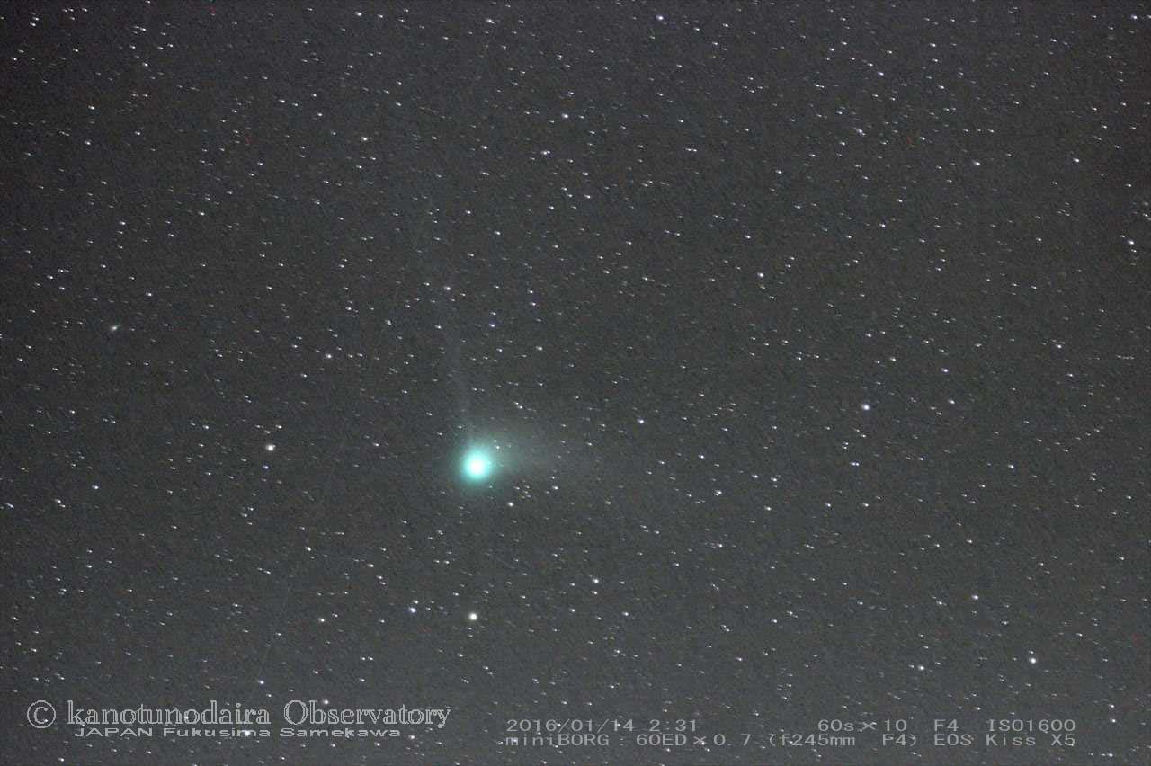 カタリナ彗星(2016/01/14)