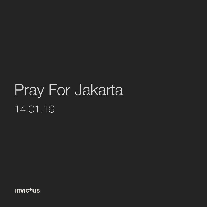 #PrayForJakarta Don't let this accidents ruin our unity. Stay strong Jakarta, Stay strong Indonesia. https://t.co/9vWZR8ssri