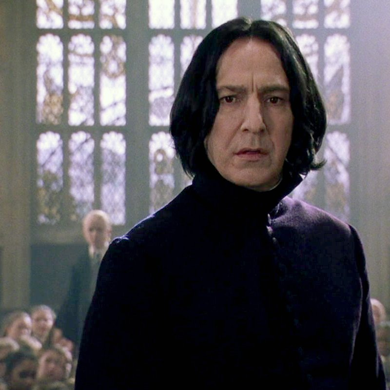 Sad to hear of the death of actor & director Alan Rickman today. You'll always be Professor Snape to us. https://t.co/3Hwt6Wi4og