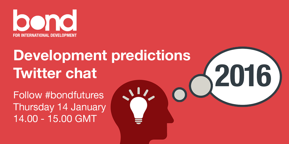 Thumbnail for Development predictions Twitter chat #bondfutures