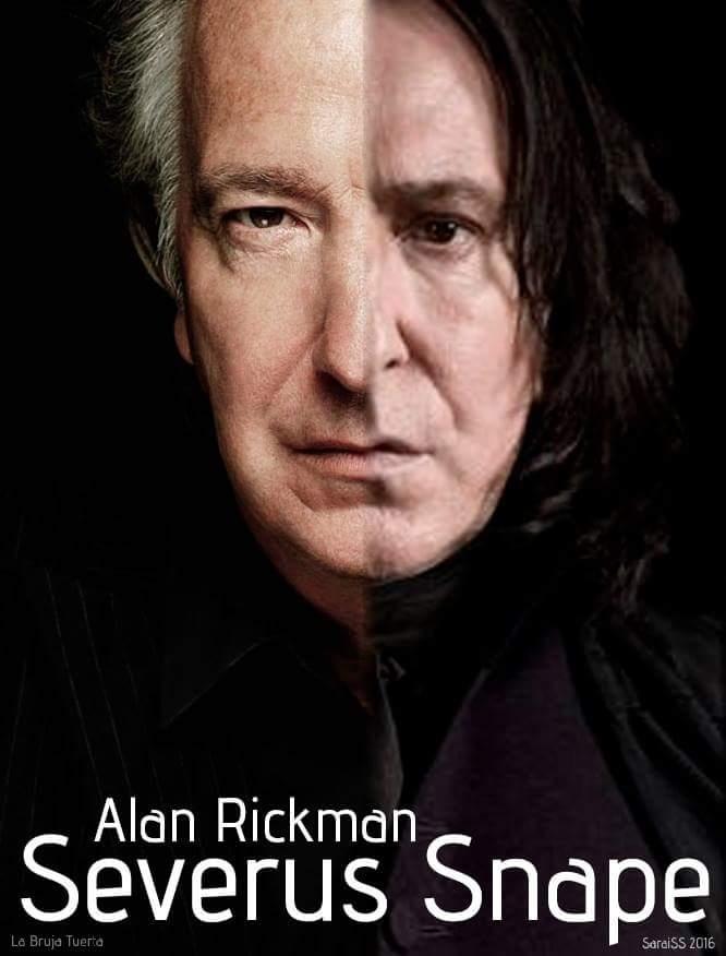Alan Rickman morto, Severus Piton di Potter