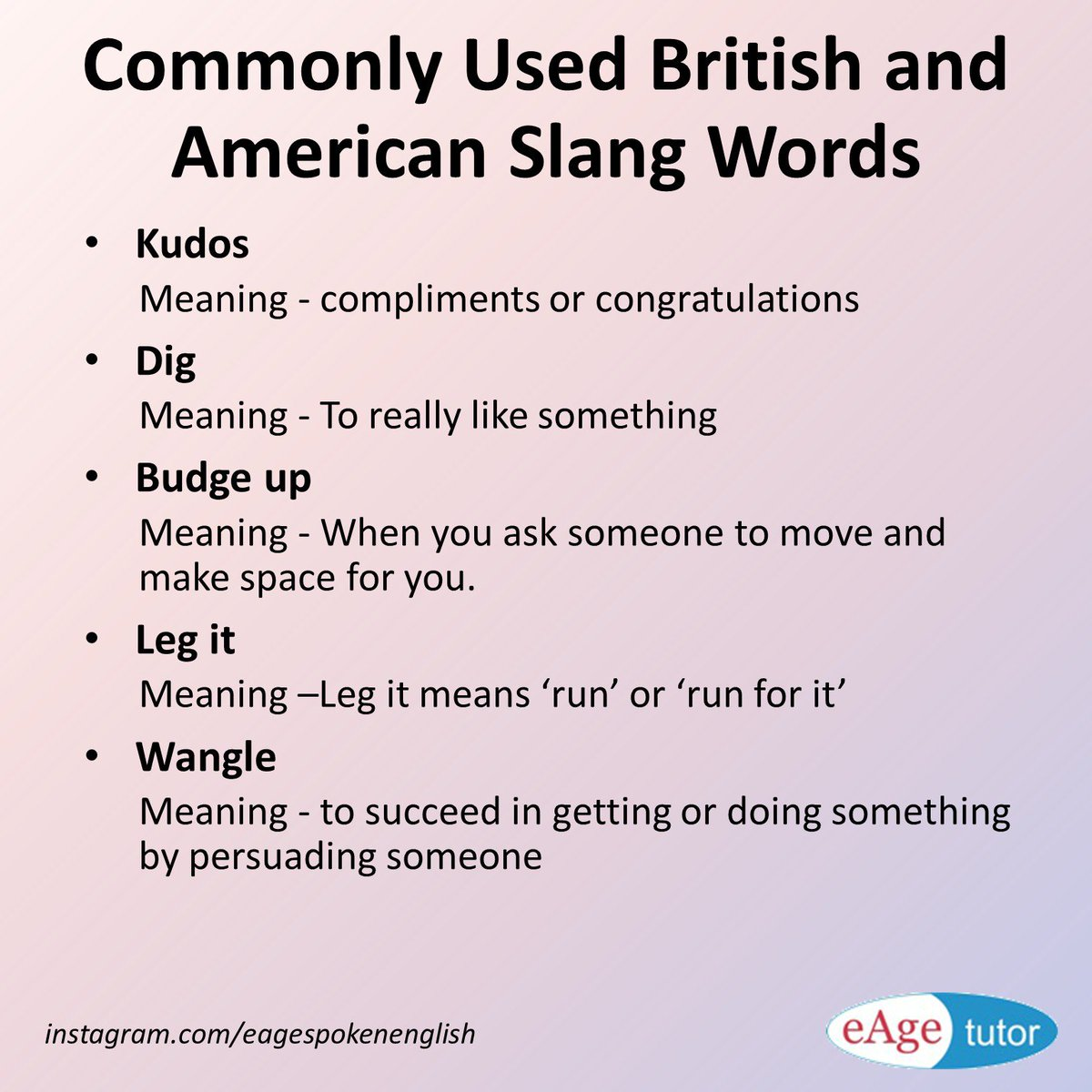recipe: slang words meaning [6]
