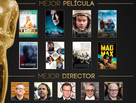 Ganadores de los Oscars 2016 -1