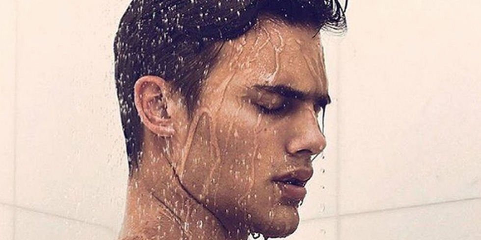 Sexy guys in the shower