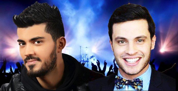 المغنيان إيلي إيليا وزكي شريف يجتمعان في تحية الى الممثل رفيق عويجان والفنان دايفيد بوي @Elie_EOfficial @zakichreif