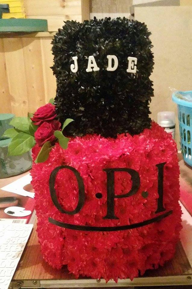 Nail Varnish Birthday Cake Hireability