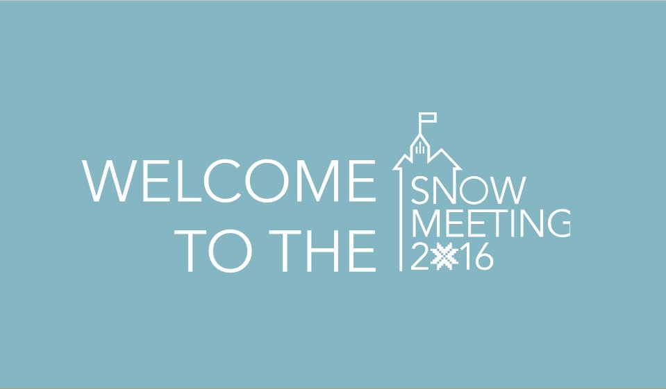 Thumbnail for #Snow2016 meeting