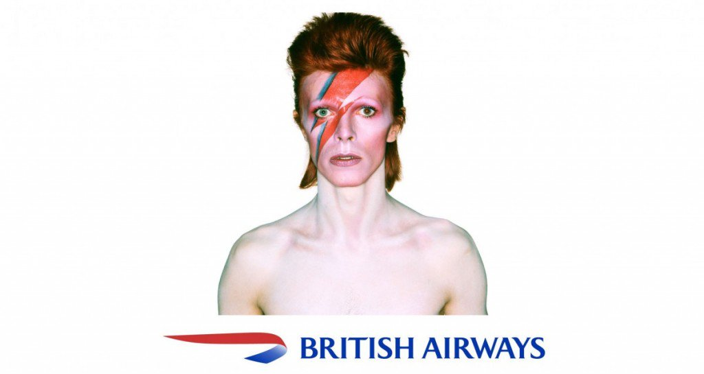 British Airways rende omaggio a David Bowie
