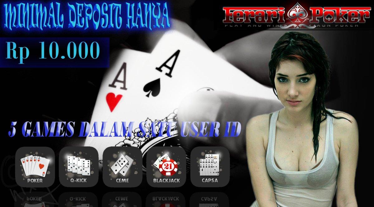 Ferari Poker On Twitter Https T Co Tcwpy0gckr Situs Poker Online Terpercaya Https T Co Okpvfb8tea