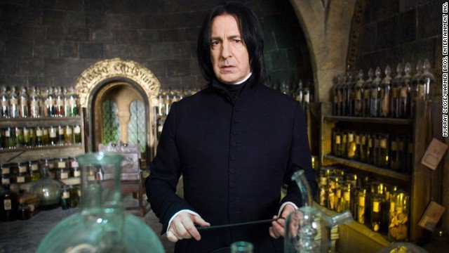 Actor Alan Rickman, Snape in Harry Potter films, dies at 69. https://t.co/qcYJuYw9MS